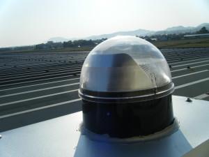 スカイライトチューブ 折板 板金屋根 (4)