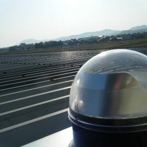 スカイライトチューブ 折板 板金屋根 (2)